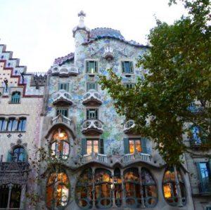 Gaudi's house in Barcelona
